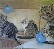Playful Kitties. by uniqueartworks