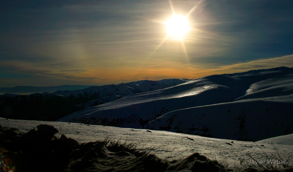 Lunar Sunset by Javier Webar