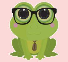 Frog Nerd Kids Tee