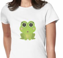 Female Frog Womens Fitted T-Shirt