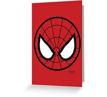 Hero Circles - Spidey Greeting Card