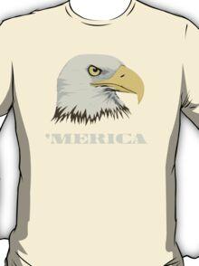 American Bald Eagle For Merica T-Shirt