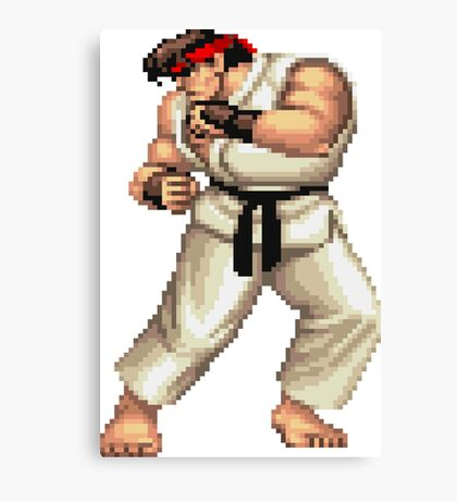 Street Fighter 2 Ryu Canvas Print