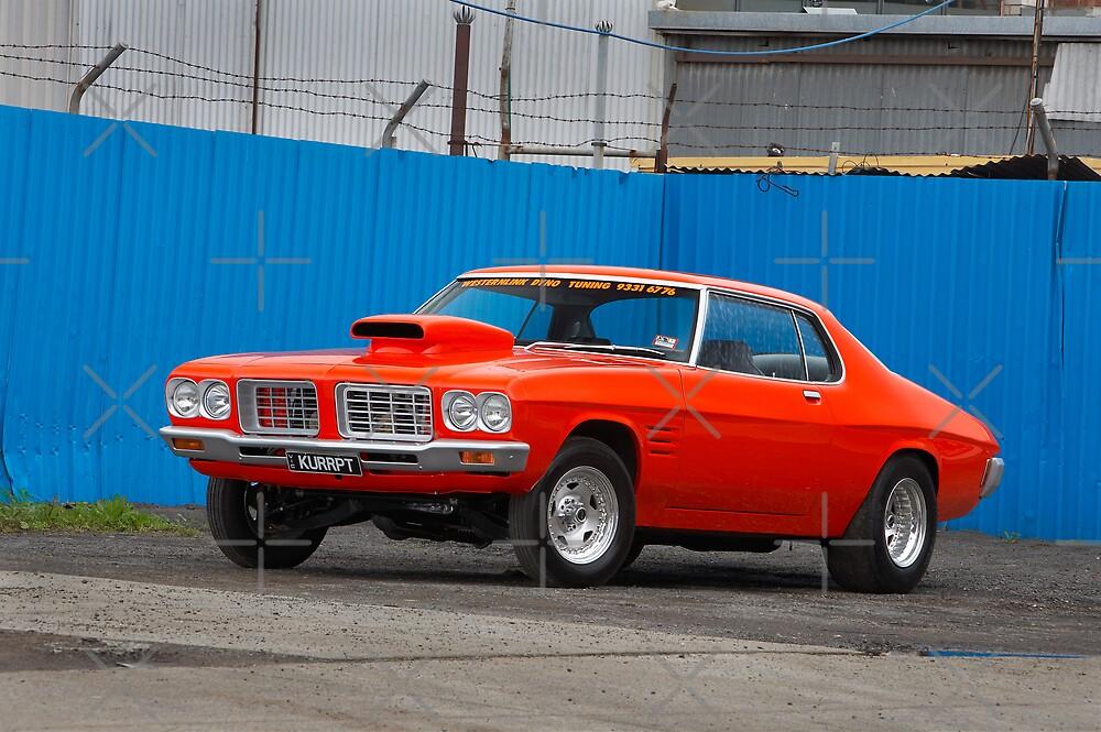 Orange Holden HQ Monaro by John Jovic