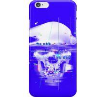 Blue Glitch of Death iPhone Case/Skin