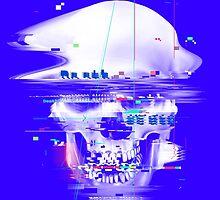 Blue Glitch of Death by Madkobra