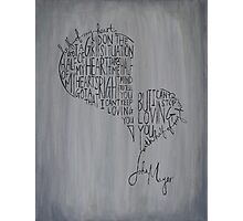Half of My Heart Photographic Print