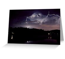 A Stormy Night in Tennessee Greeting Card