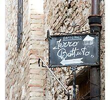 Artigiano - Tuscany Photographic Print