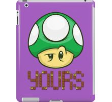 1 Up Yours iPad Case/Skin