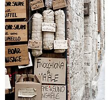 Salame - Tuscany Photographic Print