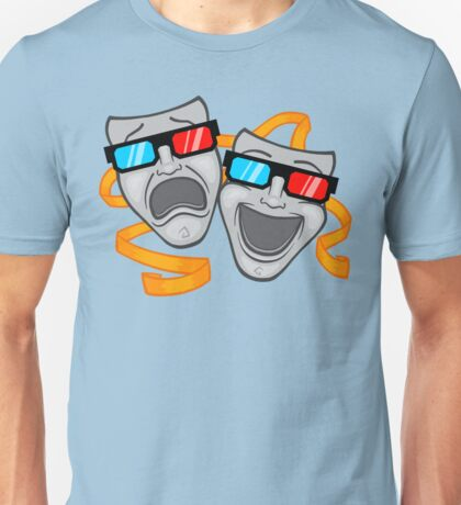 Live Theater - in 3D Unisex T-Shirt