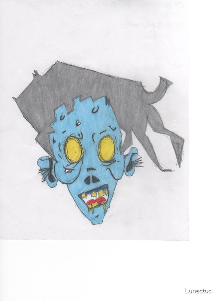 Cartoon-Zombie!! by Lunastus