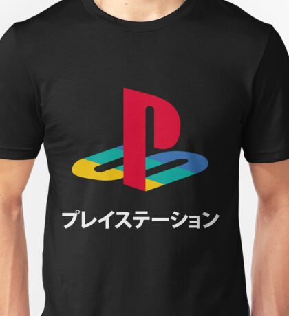 PS Video Game Logo Unisex T-Shirt