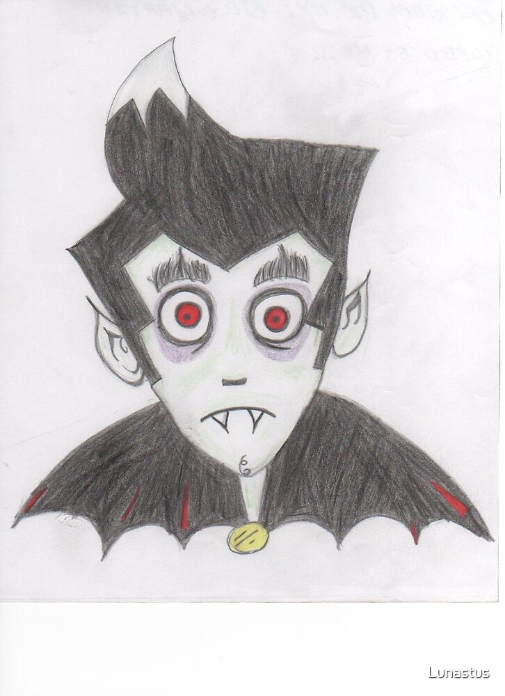 Cartoon-Vampire!! by Lunastus