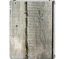 Wooden boards iPad Case/Skin