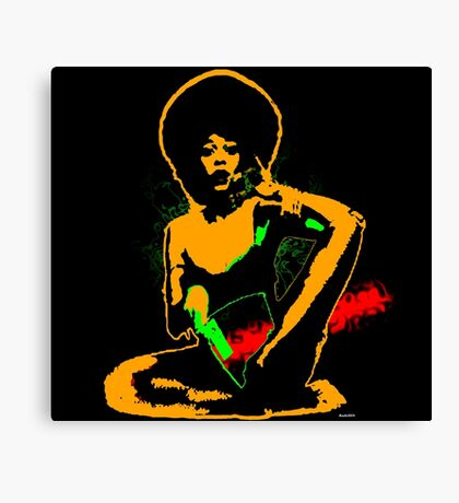 Psychedelic Soul Canvas Print