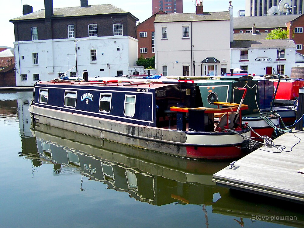 Canal barge by Steve plowman