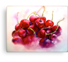 Cherries...Ripe Canvas Print