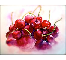 Cherries...Ripe Photographic Print