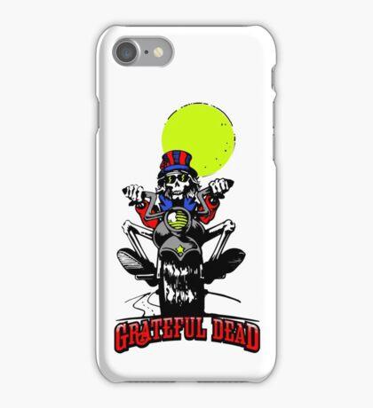 Grateful Dead - Skeleton Biker iPhone Case/Skin