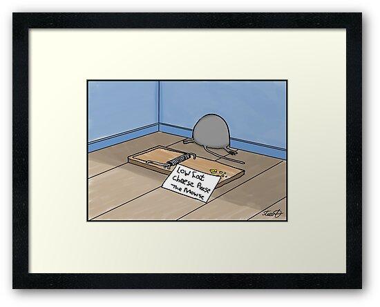 Dieting Cartoon by David Stuart