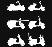 History of Vespa by rideybikes