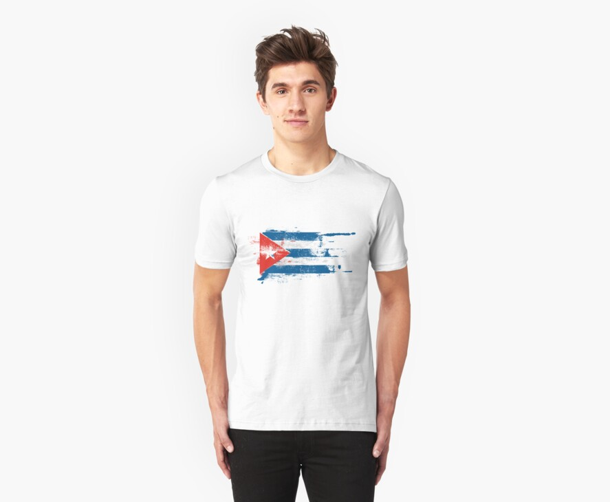 TORN CUBA by Awesome Rave T-Shirts