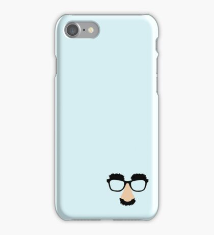 Disguise Nose Glasses iPhone Case/Skin