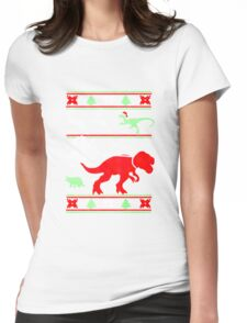 Final Dino Womens Fitted T-Shirt