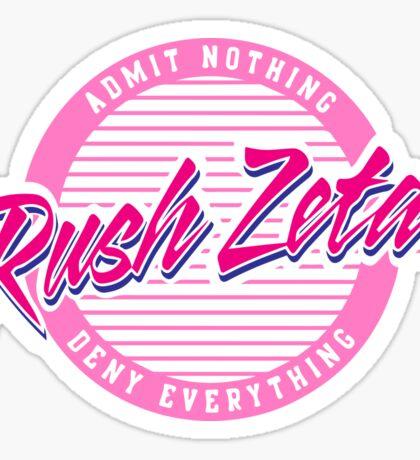 Old Row Zeta Sticker