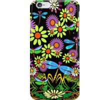 Dragonfly Garden iPhone Case/Skin