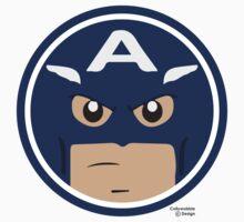 Hero Circles - Captain America by jimcwood