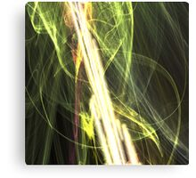 The Shattering of Reality (The Anti-Matter Rays) Canvas Print