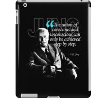 A Quote from Carl Gustav Jung Quote #2 of 50 available iPad Case/Skin