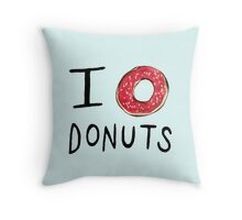 I ❤ Donuts Throw Pillow