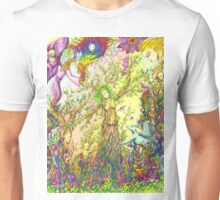 Tree woman, we all come from the Earth Unisex T-Shirt