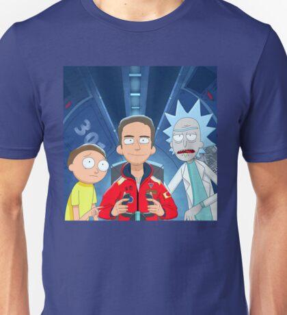 Logic Rick and Morty Unisex T-Shirt