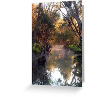 Smoke On The Water Greeting Card