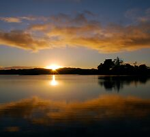 Mangonui Sun-arise in the morning by Rupert