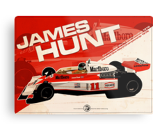 James Hunt - F1 1976 Metal Print