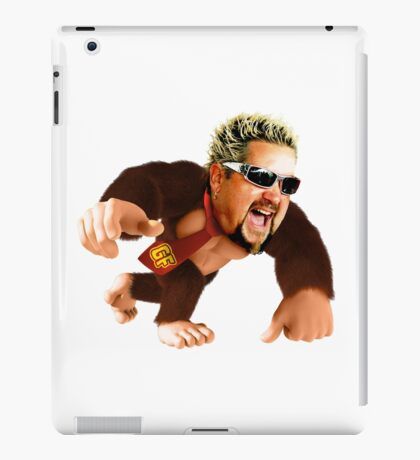 Guy Fieri Donkey Kong iPad Case/Skin