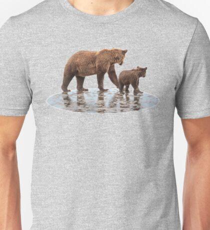 Synchronized Bear Watching Unisex T-Shirt