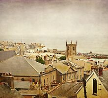 Rooftops of St Ives by Lissywitch