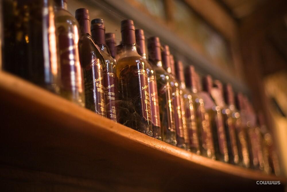 Wine bottles by cowwws
