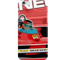 Gilles Villeneuve - F1 1979 iPhone Case/Skin