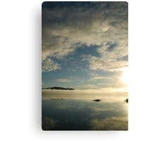 mirror on the water Canvas Print