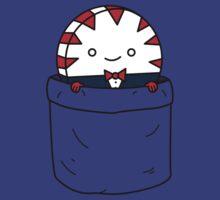 Peppermint butler in a pocket T-Shirt