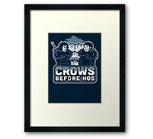 Crows before Hos Framed Print