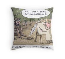 Down On His Blood Sugar Throw Pillow